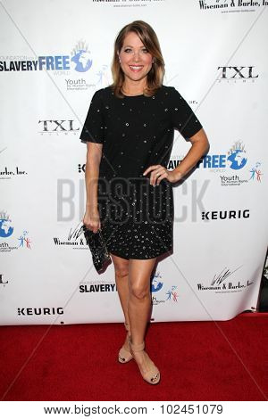 LOS ANGELES - SEP 21:  Jennifer Aspen at the The Human Rights Hero Awards at the Beso on September 21, 2015 in Los Angeles, CA