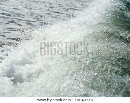 Background.Sea wave.