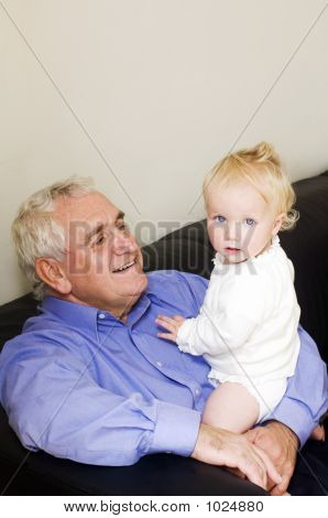 Baby With Grandad