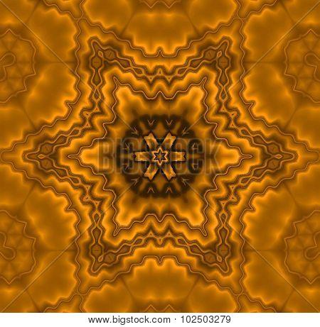 Seamless pattern brown metallic