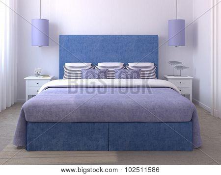 Beautiful Bedroom Interior.