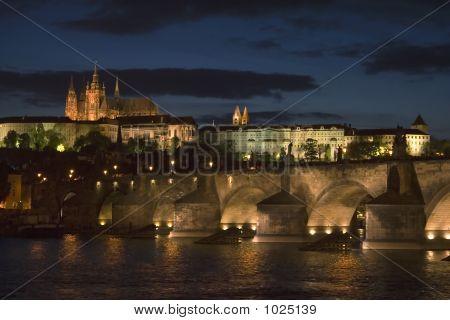 Nightfall In Prague