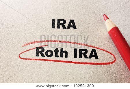 Roth IRA Red Circle