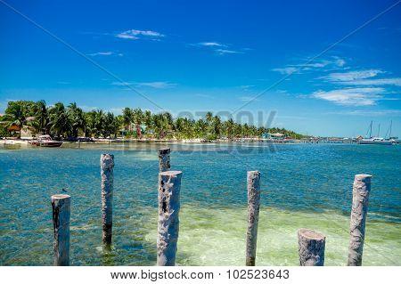 Caye Caulker Belize Caribbean