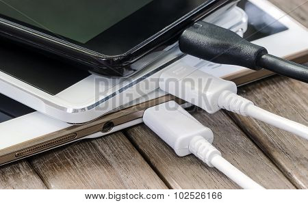 Stack Of  Smart Phone