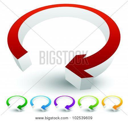 Circular, Loop, Refresh, Vector, Cycle, Clockwise, Right, Arrow, Circle, Graphics, Shape, Modern, Ci