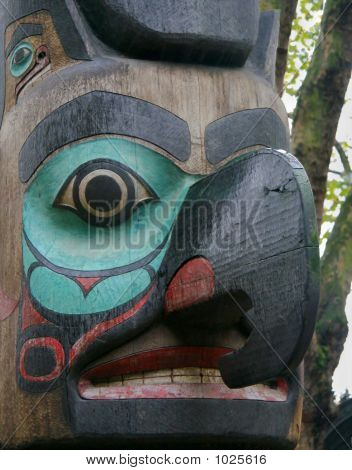 Totem Pole In Seattle