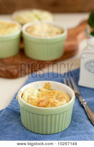 Broccoli Ham Souffle