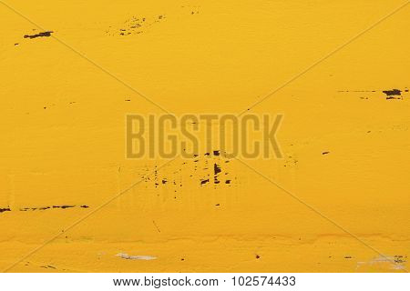 Yellow Rustic Wood Background.