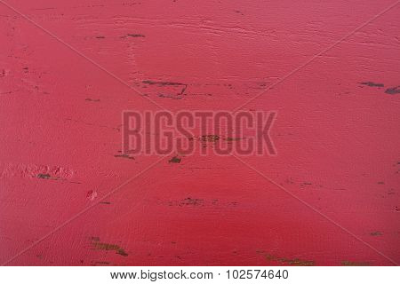 Red Rustic Wood Background.