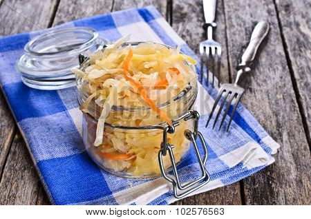 Salad Of Sauerkraut