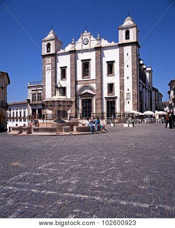 St Antons Church, Evora.