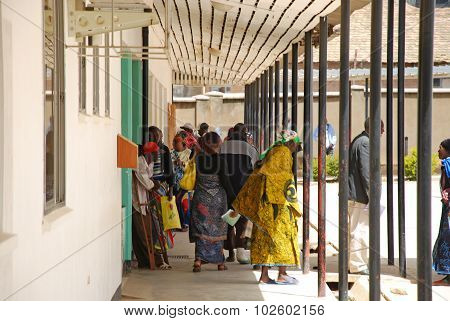 The Coming And Going Daily To The Hospital Of Iringa, Tanzania, Africa 30