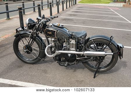 AJS Motorcycle