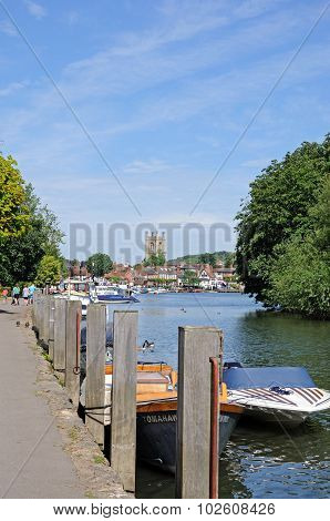 River view, Henley-on-Thames.
