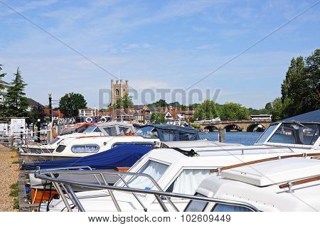 Boats on the River, Henley on Thames.