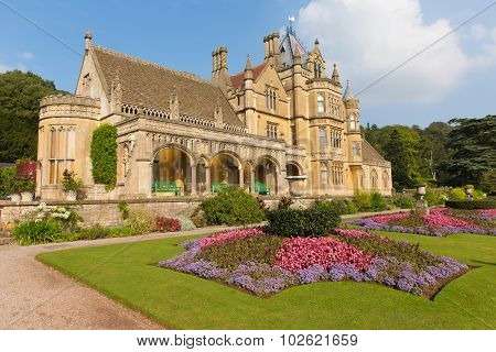 Tyntesfield House near Wraxall North Somerset England UK a Victorian mansion