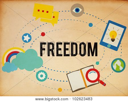 Freedom Free Inspiration Emancipation Independence Concept