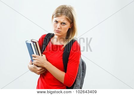 Angry student