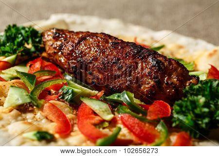 Shish Kofte Kebab