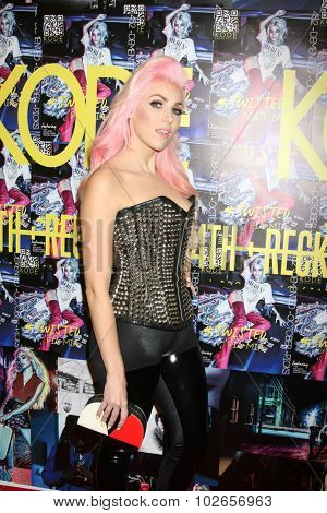 LOS ANGELES - SEP 23:  Bonnie McKee at the KODE Magazine October 2015 Issue Party at the The Well on September 23, 2015 in Los Angeles, CA