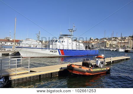 Ship Of The French Coastguard