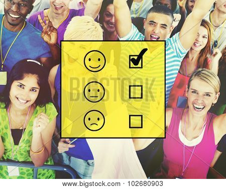 Evaluate Evaluating Evaluation Statistics Questionnaire Concept