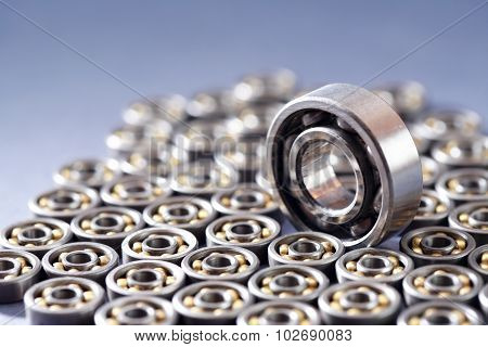 Ball Bearings Background