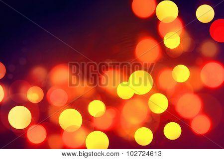 Defocused Lights Background.