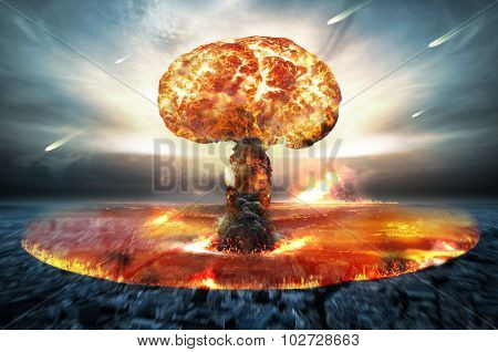 Nuclear Atomic War