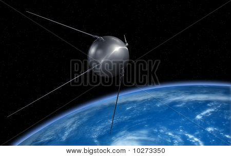 Earth sputnik