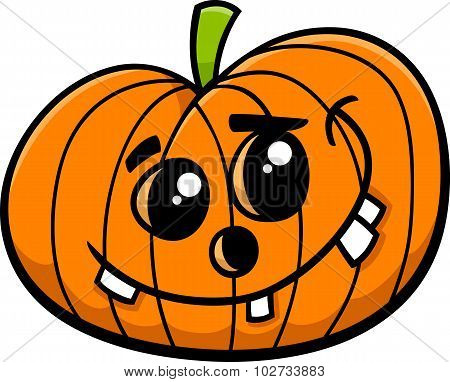 Jack Halloween Pumpkin Cartoon