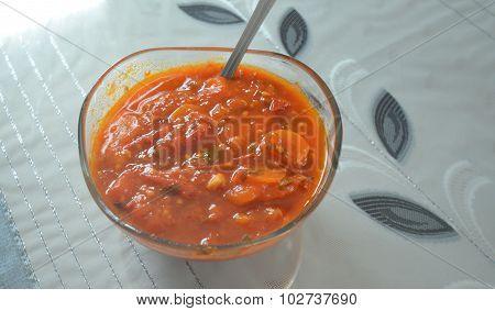 Tomato And Carot Sauce