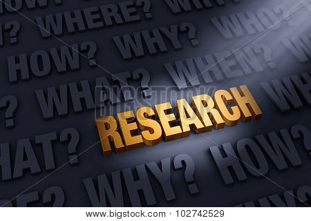 Questions Illuminate Research