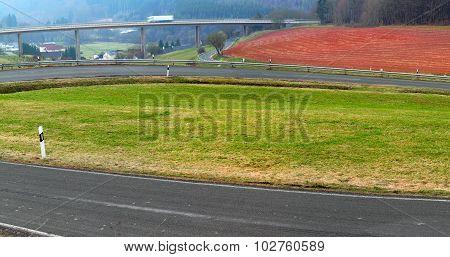 Asphalt Side Road