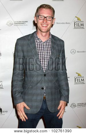 LOS ANGELES - SEP 24:  Eric McCoy at the Catalina Film Festival Opening Night Feature -- West of Redemption at the Lancer Auditorium on September 24, 2015 in Avalon, CA