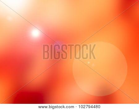 Red Blur Background