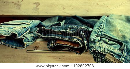 dresser and denim