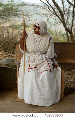Jain Nun In India