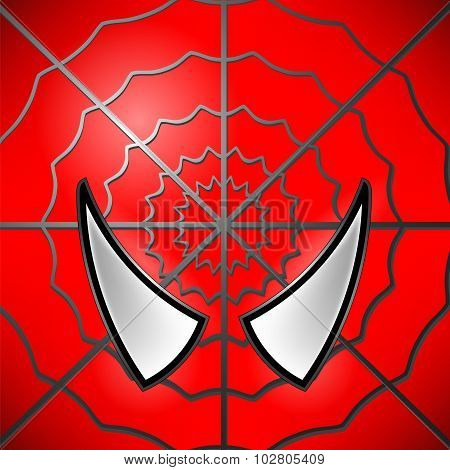 Superhero Icon. Mask
