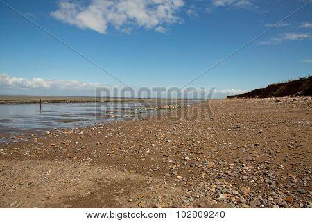 Doniford Beach,  Exmoor, Uk