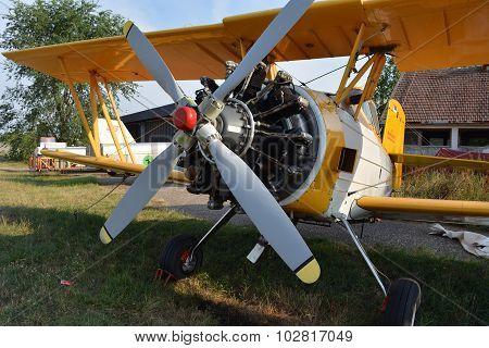 Old Propeller Plane