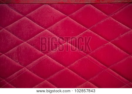 Rhombus sofa upholstery