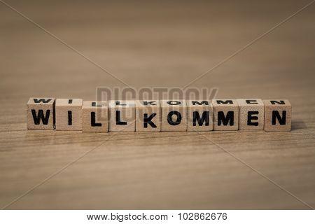 Willkommen In Wooden Cubes