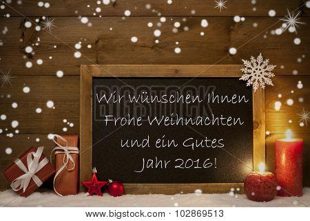 Board, Snowflake, Weihnachten, Jahr 2016 Mean Christmas New Year