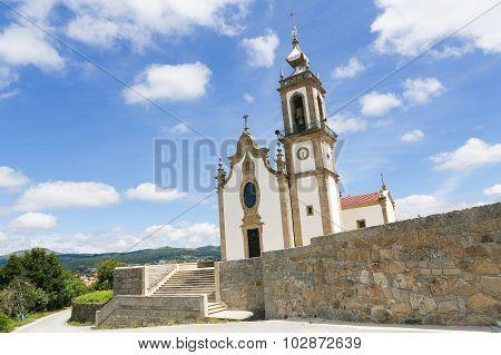 Igreja Matriz In Paredes De Coura In Norte Region, Portugal