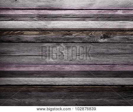 Vintage Color Paint Stripes Wood Background