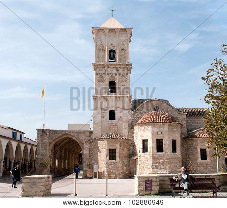 Saint Lazarous Church At Larnaca Twon Cyprus