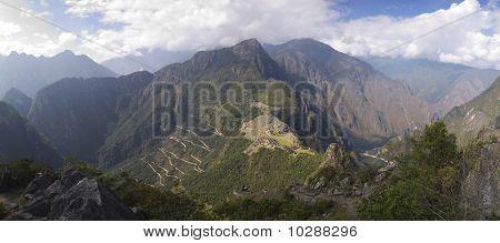 Wayna Picchu Panorama View