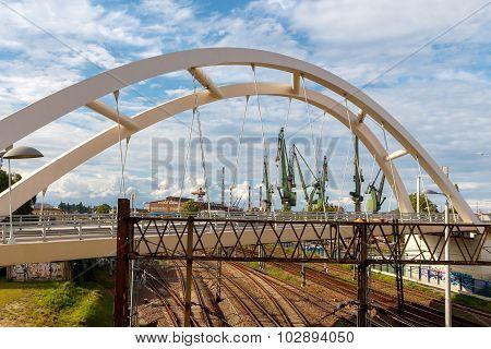 Gdansk. Shipyard.